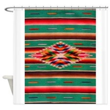 Southwest Weaving Shower Curtain