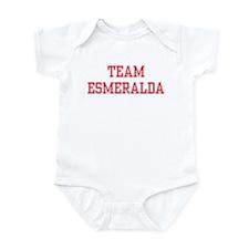 TEAM ESMERALDA  Infant Bodysuit