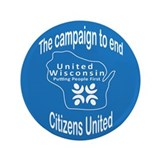 "The Campaign to End Citizens United 3.5"" Button"
