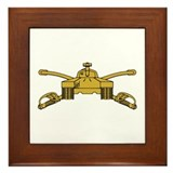 Armor Branch Insignia Framed Tile