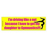 Gymnastics Mom Bumper Bumper Sticker