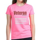 Veteran Definition Tee-Shirt