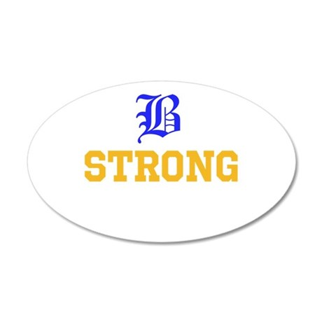 Boston Strong Wall Decal