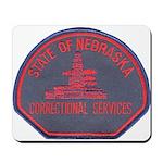 Nebraska Corrections Mousepad