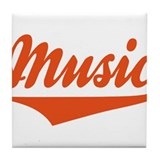 Music Tile Coaster
