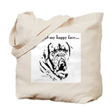 Dogue Happy Face Tote Bag
