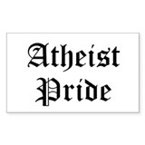 Atheist Pride Decal