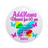 60TH PARTY Ornament (Round)
