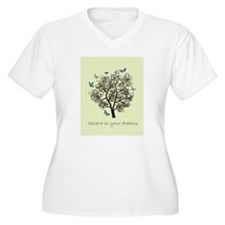 Dream Tree Plus Size T-Shirt