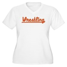 Wrestling Plus Size T-Shirt