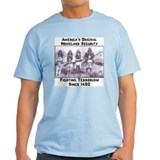 """America's Original Homeland Security"" Ash Grey T-"
