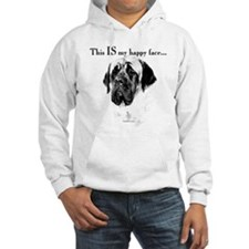 Mastiff Happy Face Hoodie