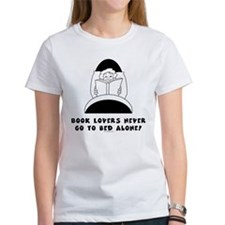 Book Lovers Bed-Female<br> T-Shirt