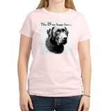 Lab Happy Face Women's Pink T-Shirt