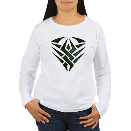 Tribal Badge Women's Long Sleeve T-Shirt