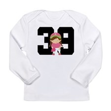 Softball Player Uniform Number 39 Long Sleeve Infa