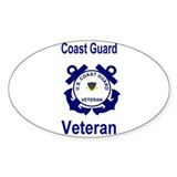 Coast Guard Veteran Decal PO3 Decal
