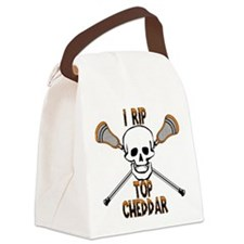 Lacrosse I Rip Top Cheddar Canvas Lunch Bag