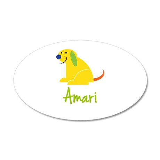 Amari Loves Puppies Wall Decal