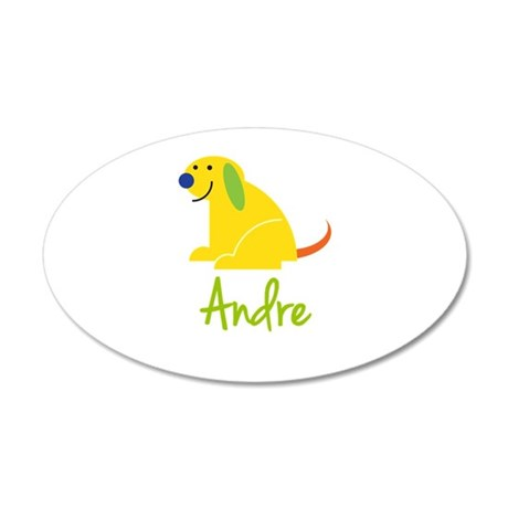 Andre Loves Puppies Wall Decal