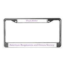 ABADS License Plate Frame