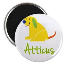 "Atticus Loves Puppies 2.25"" Magnet (100 pack)"