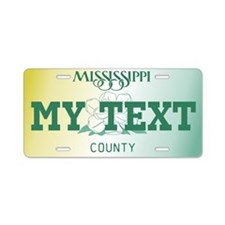 Mississippi Magnolia 1999-2003 number tag replica
