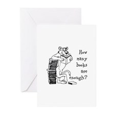 How Many Books Greeting Cards (Pk of 20)