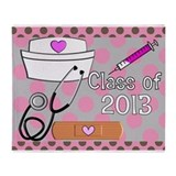 Nursing Class of 2013 Throw Blanket