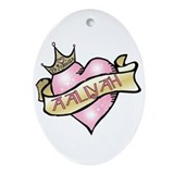 Sweetheart Aaliyah Custom Princess Oval Ornament