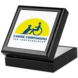 Color Canine Companions Logo Keepsake Box