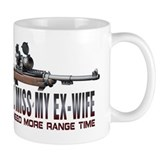 I Still Miss My Ex-Wife Small Mug