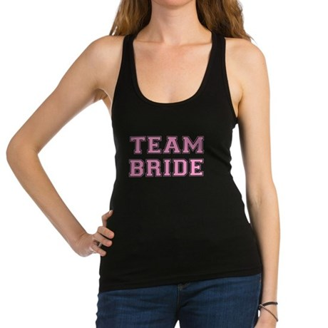 team_bride.png Racerback Tank Top