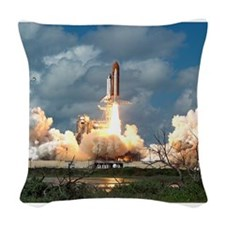 STS-26 Return to Flight Launch.jpg Woven Throw Pil