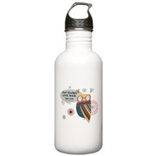 Owl Always Love Jesus Owl Water Bottle