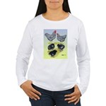 Plymouth Rock Rooster, Hen & Women's Long Sleeve
