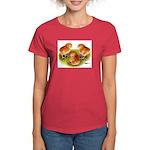 Red Leghorn Chicks Women's Dark T-Shirt