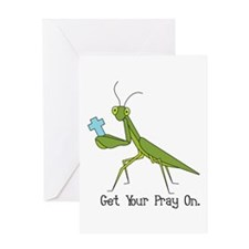 Get Your Pray On Greeting Card