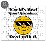 World's Best Great Grandma Humor Puzzle