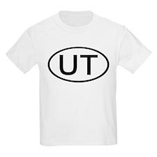 UT Oval - Utah Kids T-Shirt