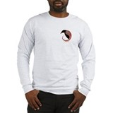 The Morrigan mini Long Sleeve T-Shirt Gr/Wht