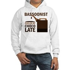 Bassoon Humor Chocolate Gift Hooded Sweatshirt