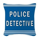 police detective blues mousepad.jpg Woven Throw Pi