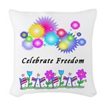 Patriotic July 4th Fireworks Pillows
