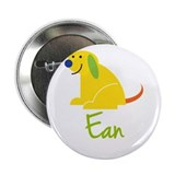 "Ean Loves Puppies 2.25"" Button"
