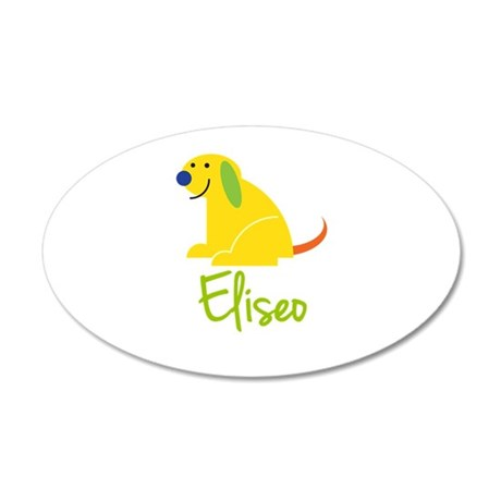 Eliseo Loves Puppies Wall Decal