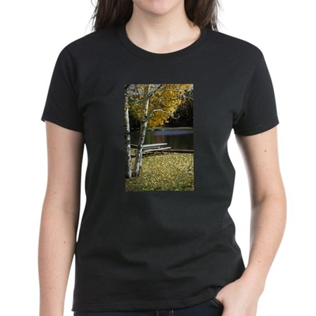 Picnic Table Women's Dark T-Shirt