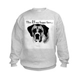 Saint Bernard Happy Face Sweatshirt