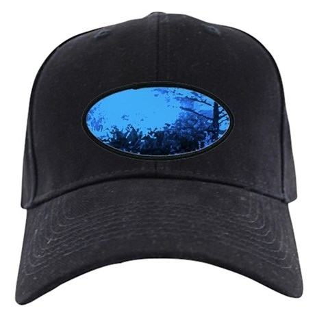 Blue Garden Black Cap