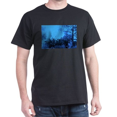 Blue Garden Dark T-Shirt